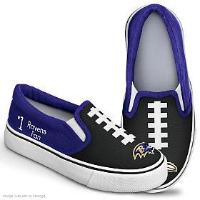 NFL Kids Baltimore Ravens Shoes