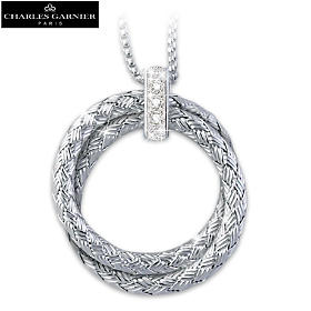 Love For Always Diamond Pendant Necklace