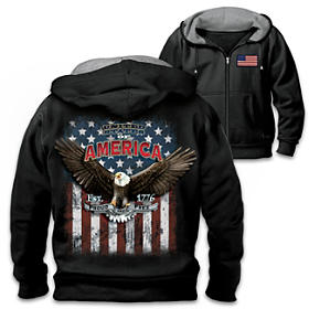American Patriot Men's Hoodie