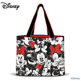 Disney's Mickey Mouse & Minnie Mouse Tote Bag