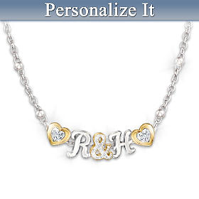 You & Me Personalized Necklace