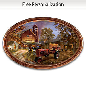 Allis-Chalmers Personalized Collector Plate