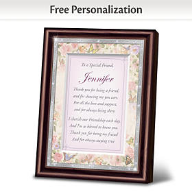 My Special Friend Personalized Poem Frame