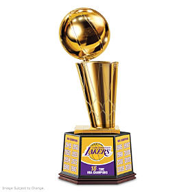 Los Angeles Lakers NBA Finals Trophy Sculpture