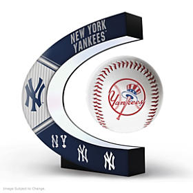 New York Yankees Levitating Baseball Sculpture