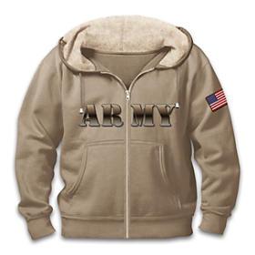Military Pride Army Men's Hoodie