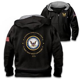 Proud To Serve U.S. Navy Men's Hoodie