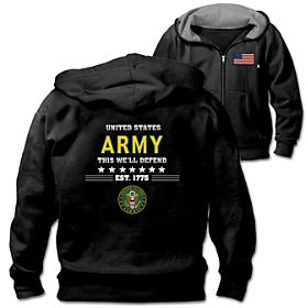 Military Pride U.S. Army Men's Hoodie