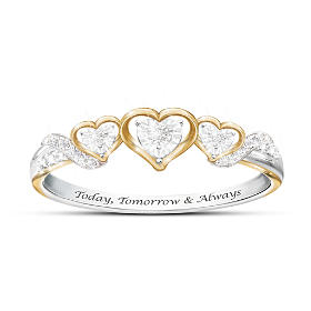 Today, Tomorrow & Always Diamond Ring