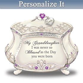 Generations Of Love Personalized Music Box