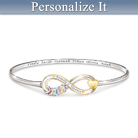 Our Family Is Forever Personalized Bracelet