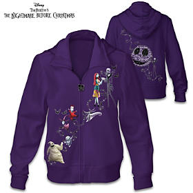Nightmare Before Christmas Spook-tacular Fun Women's Hoodie