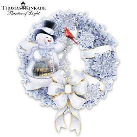 Thomas Kinkade Winter Wonderland Wreath
