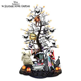 Halloween Town Tabletop Tree