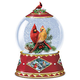 Winter's Tiny Treasures Snowglobe