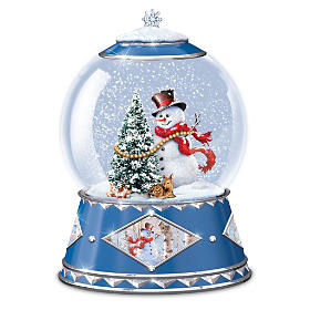 A Snowy Wonderland Snowglobe