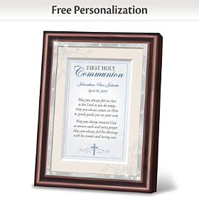 First Holy Communion Personalized Frame