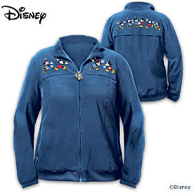 Disney Mickey Mouse & Minnie Mouse Happiest Together Women's Jacket