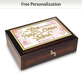 A Mother's Love Is Forever Personalized Music Box
