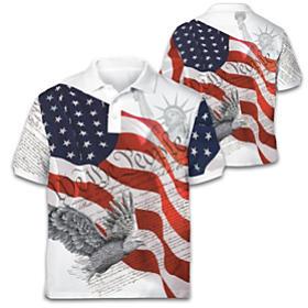 Spirit Of America Men's Shirt