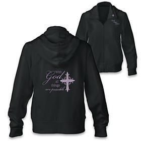 With God, All Things Are Possible Women's Hoodie