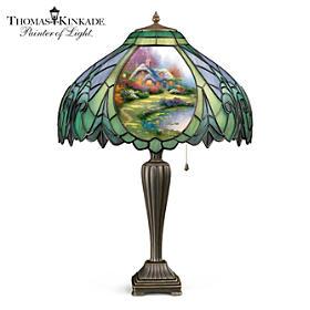 Thomas Kinkade Country Cottage Lamp