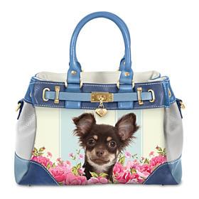 Playful Pup Chihuahua Handbag