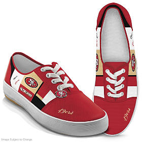 NFL Patchwork 49ers Women's Shoes