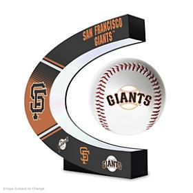 San Francisco Giants Levitating Baseball Sculpture