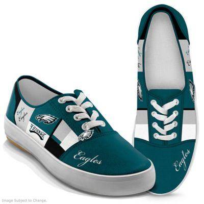 31c539c5 NFL-Licensed Philadelphia Eagles Women's Patchwork Sneakers