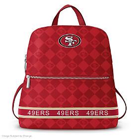 San Francisco 49ers NFL Backpack