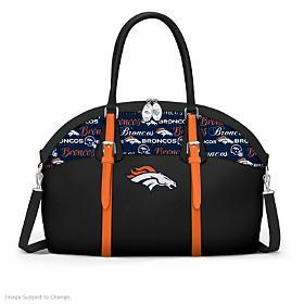 Denver Broncos Ultimate Fan NFL Handbag