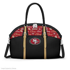 San Francisco 49ers Ultimate Fan NFL Handbag