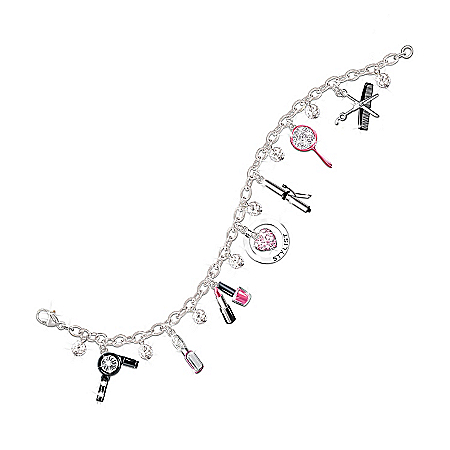 Photo of Show Your Style Fashion Charm Bracelet: Unique Gift For Her by The Bradford Exchange Online