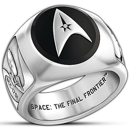 Photo of STAR TREK Collector's Ring by The Bradford Exchange Online