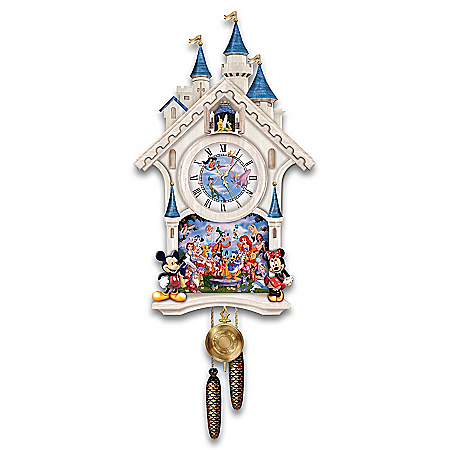 Photo of Disney Character Cuckoo Clock: Happiest Of Times by The Bradford Exchange Online