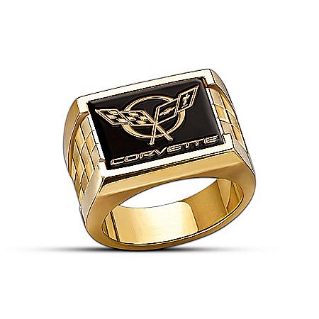 Corvette Classic Men's Ring 107816001