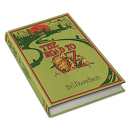 Photo of L. Frank Baum First Edition Replica: The Road To Oz Hard Cover Book by The Bradford Exchange Online