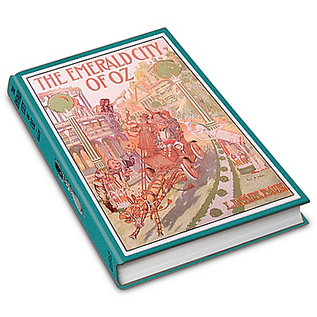 Photo of L. Frank Baum First Edition Replica: The Emerald City Of Oz Book by The Bradford Exchange Online