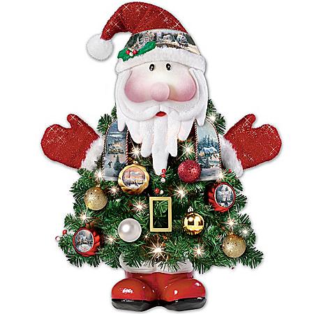 Photo of Thomas Kinkade Ho-Ho-Home For The Holidays Pre-Lit Christmas Tree by The Bradford Exchange Online