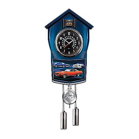Photo of Chevy Camaro Cuckoo Clock by The Bradford Exchange Online