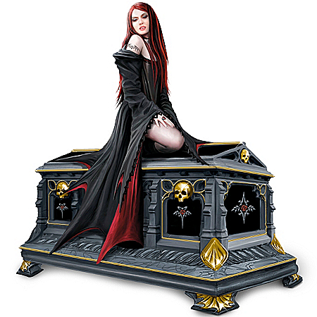 Photo of Love Without End: Gothic Vampire Music Box by The Bradford Exchange Online