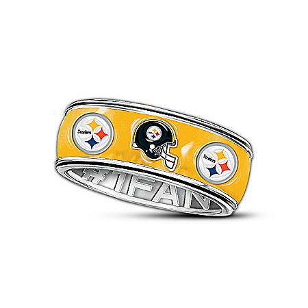 NFL Pittsburgh Steelers #1 Fan Ring 113080001