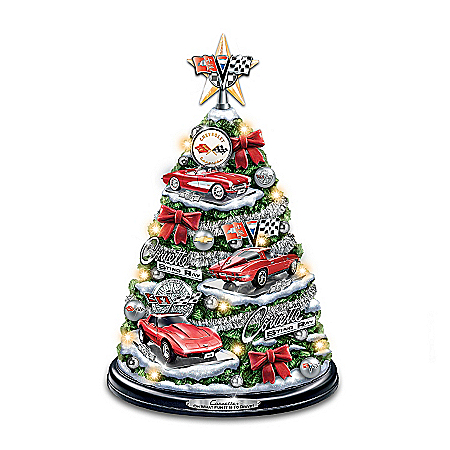 Image of Corvette Tabletop Christmas Tree: Oh What Fun It Is To Drive