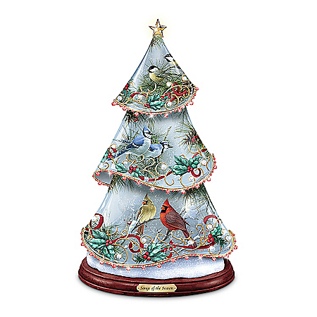Photo of Table Tree: Songs Of The Season Tabletop Tree by The Bradford Exchange Online