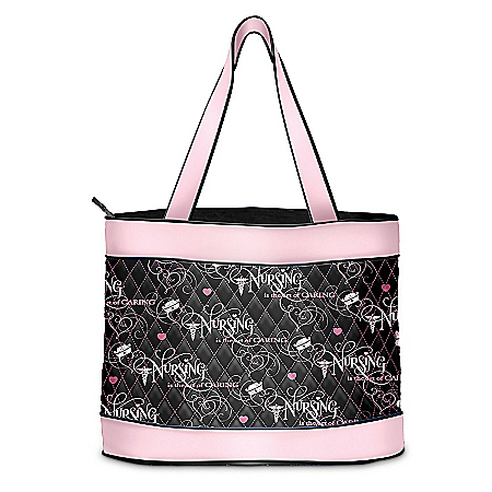 Photo of Nurse Tote Bag: The Art Of Caring by The Bradford Exchange Online