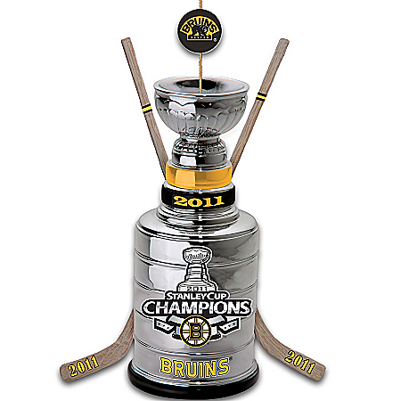 Photo of NHL® Boston Bruins® 2011 Stanley Cup® Champions Ornament by The Bradford Exchange Online