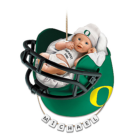 Photo of University Of Oregon Ducks Baby's First Ornament by The Bradford Exchange Online