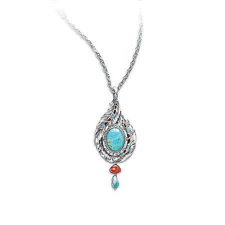 Photo of Necklace: Sedona Sky Pendant Necklace by The Bradford Exchange Online