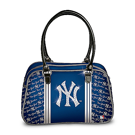 Photo of MLB New York Yankees City Chic Handbag by The Bradford Exchange Online